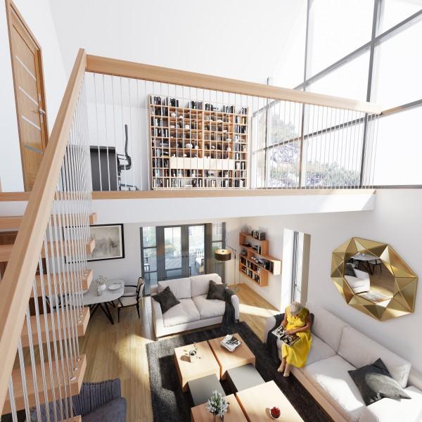 Rushmoor Flat 10 Staircase View
